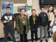 Five students pose with Governors Cup medals.