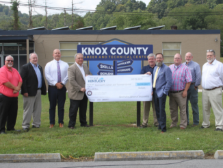 Check presentation at Knox County Career and Technical Center